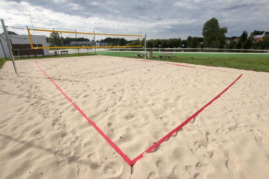 Volejbalové hřiště Malvíny