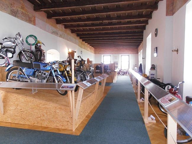 Expozice motocykly Kámen