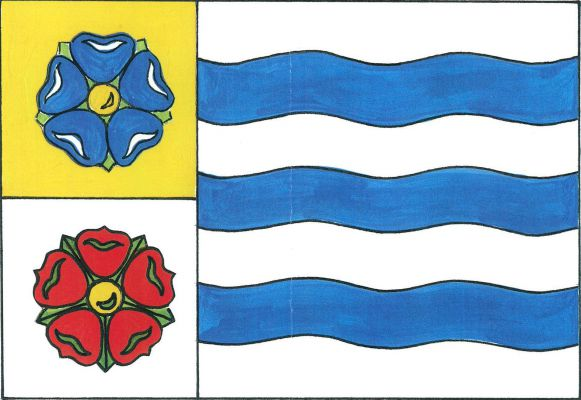 Vlajka Bohdalína
