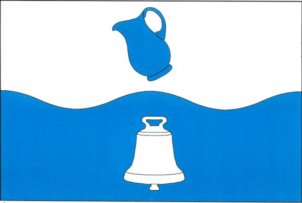 Vlajka Dobré Vody u Pacova