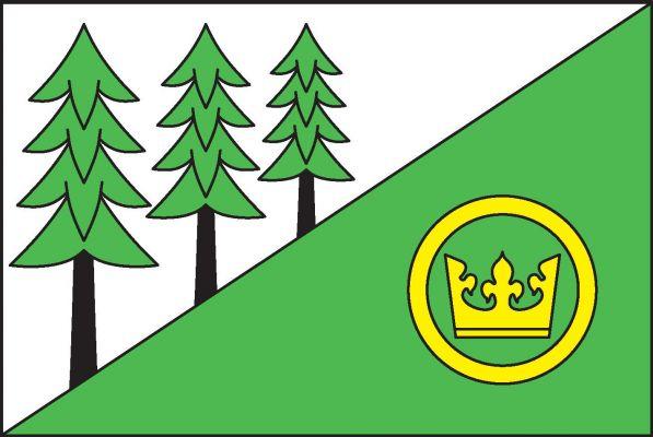 Vlajka Proseče pod Křemešníkem