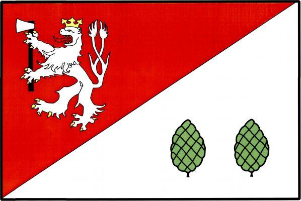 Vlajka Havlíčkovy Borové