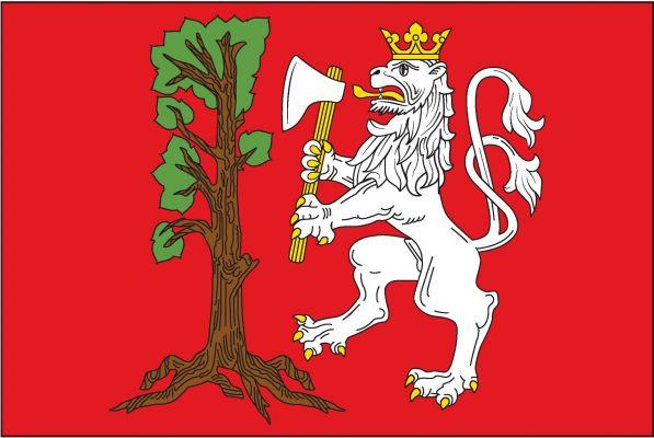 Vlajka Uhelné Příbrami