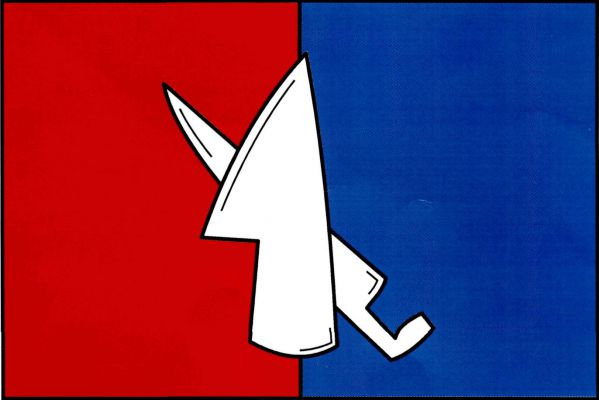 Vlajka Dolních Lažan