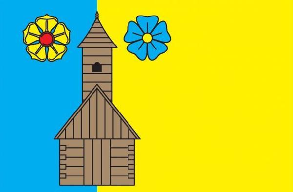 Vlajka Třeštice