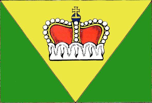 Vlajka Ústí