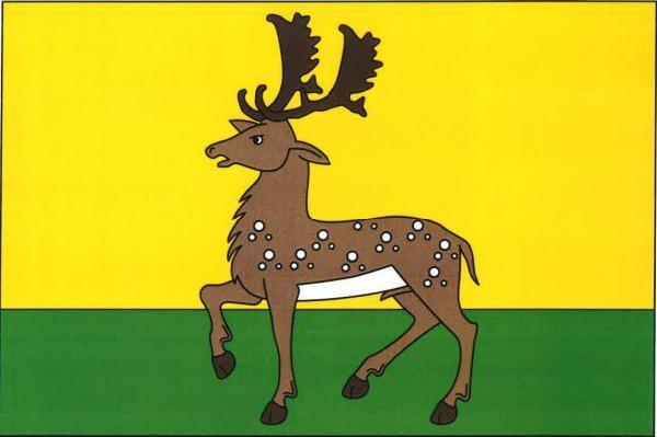 Vlajka Kladerub nad Oslavou