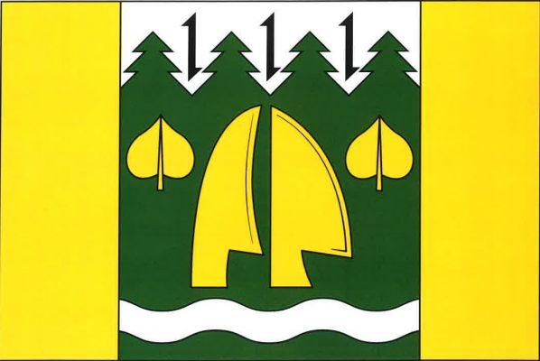 Vlajka Lesné
