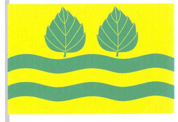 Vlajka Březí nad Oslavou