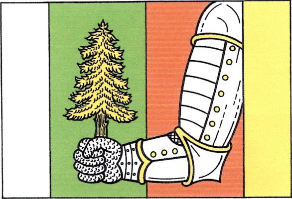 Vlajka Býšovce