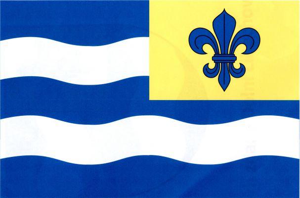 Vlajka Dolní Libochové