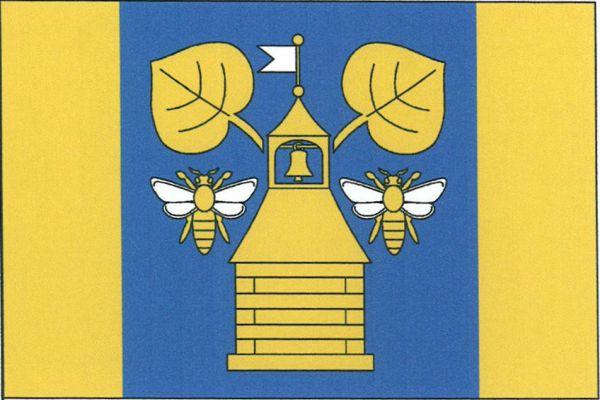 Vlajka Horní Libochové