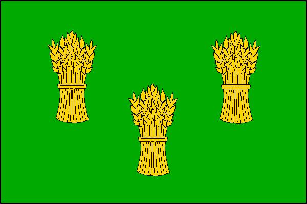 Vlajka Nové Vsi u Nového Města na Moravě