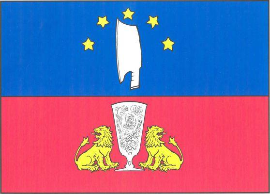 Vlajka Skleného