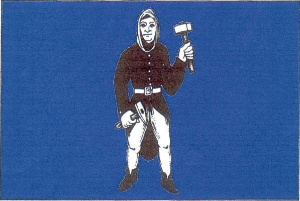 Vlajka Štěpánova nad Svratkou