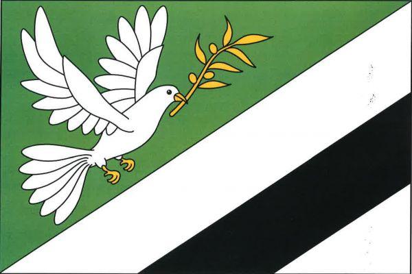 Vlajka Věstína